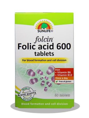 فولسین فولیک اسید 600