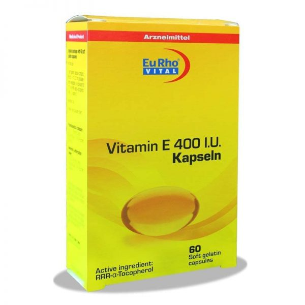 ویتامین ای 400 یورو ویتال