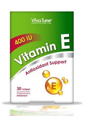 ویتامین ای 400 واحد ویوا تون