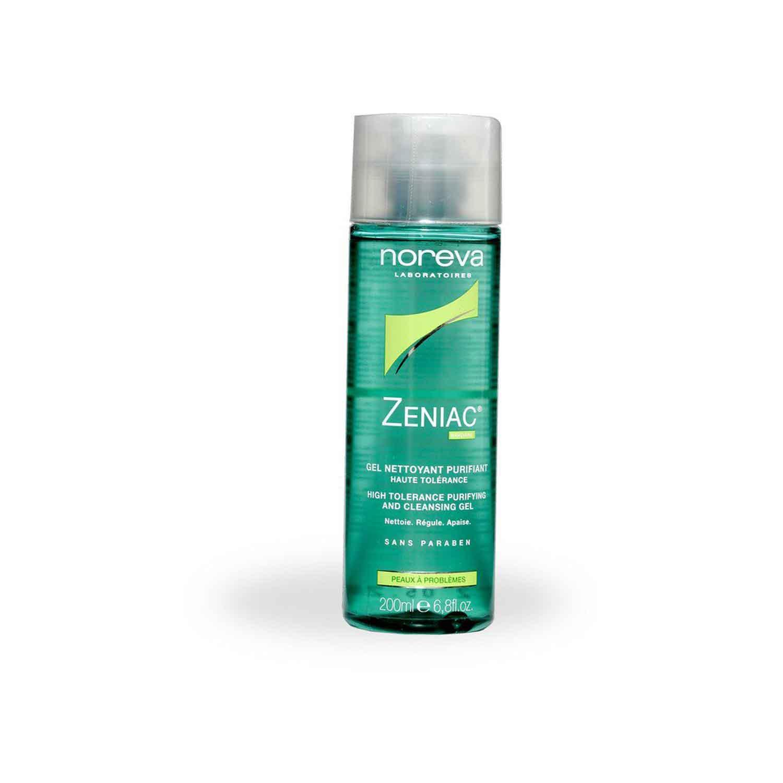 ژل پاک کننده پوست چرب زنیاک noreva Zeniac