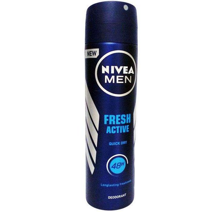 اسپری بدن مردانه نیوآ NIVEA مدل فرش اکتیو