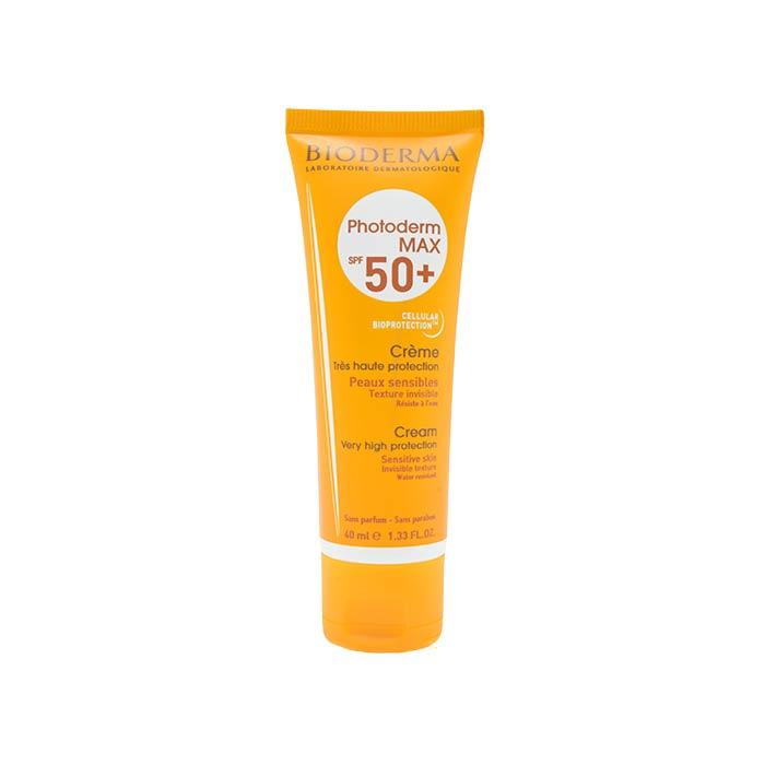 کرم ضد آفتاب فتودرم مکس ⁺SPF50 بایودرما 40 میلی لیتر