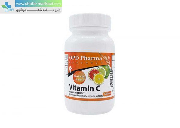 ویتامین-ث-1000-میلی-گرم-او-پی-دی-فارما-60-عددی