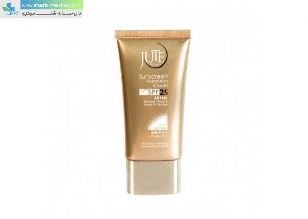 کرم-ضد-آفتاب-رنگی-SPF25-مناسب-انواع-پوست-ژوت-بژ-روشن