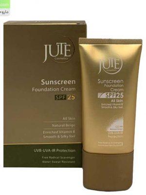 کرم-ضد-آفتاب-رنگی-SPF25-مناسب-انواع-پوست-ژوت-بژ-طبیعی-1
