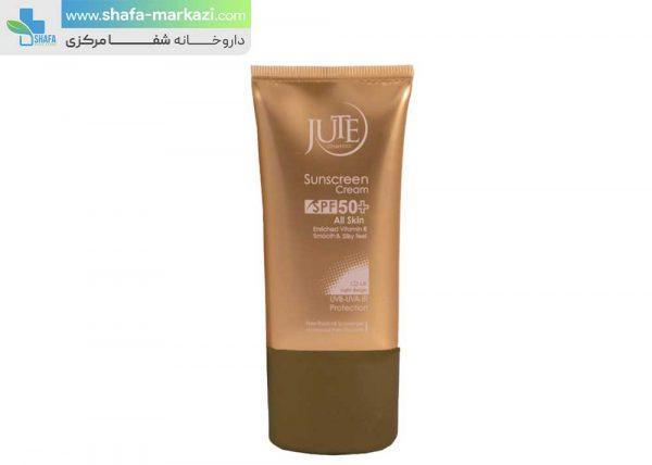 کرم-ضد-آفتاب-رنگی-SPF50-مناسب-انواع-پوست-بژ-طبیعی