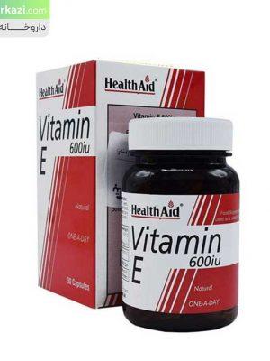 کپسول-ویتامین-ای-600-واحد-هلث-اید-1