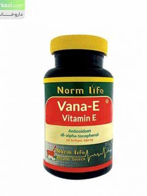 کپسول-ژلاتینی-ویتامین-ای-400-نورم-لایف
