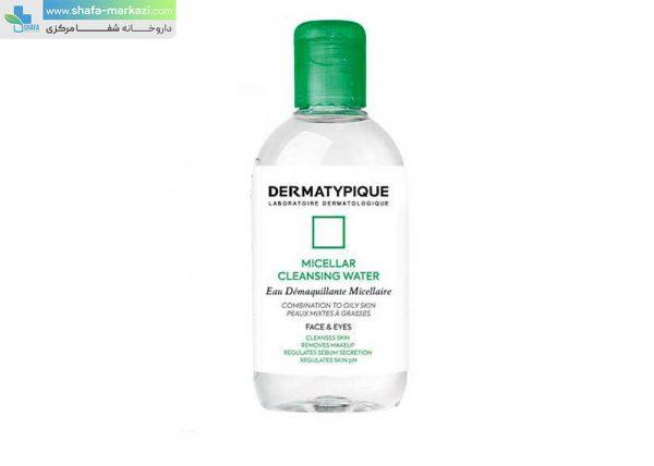 محلول-پاک-کننده-آرایش-صورت-میسلار-درماتیپیک-پوست-چرب-و-مختلط