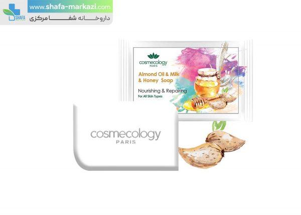 صابون-روغن-بادام-و-شیر-و-عسل-کاسمکولوژی