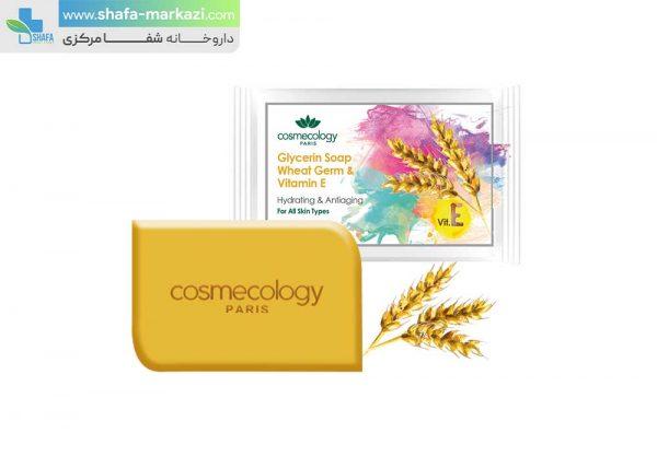 صابون-گلیسیرینه-جوانه-گندم-و-ویتامین-E-کاسمکولوژی.